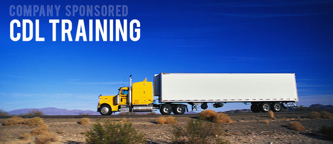 company sponsored cdl training